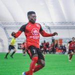 Francis Narh wins the game for Slavia Mozyr with last gasp strike