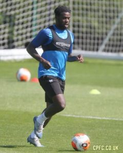Jeffrey Schlupp resumes training at Crystal Palace