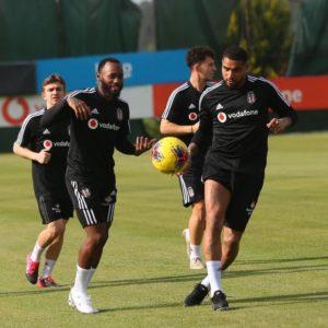 Ghanaian midfielder Kevin Prince Boateng resumes training at Beşiktaş