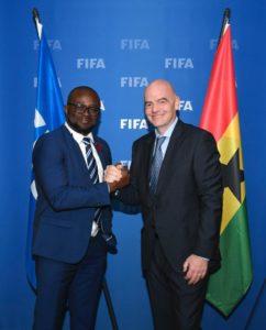 We will put FIFA money to good use - GFA capo Kurt Okraku