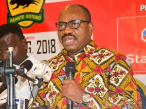 George Amoako confirms Kotoko no longer receives monthly support from corporate partners due to Covid-19