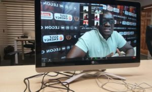 Legon Cities FC management interact with supporters on Zoom amid Covid-19