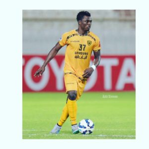 Defender Rashid Sumaila return to training with Al Qadsiya teammates after Covid-19 break