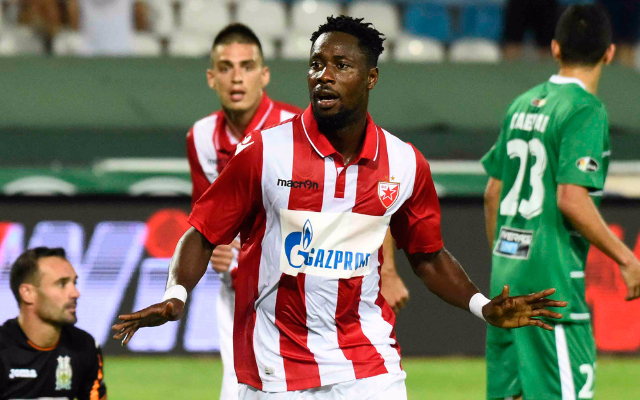 Striker Boakye-Yiadom to leave Red Star at the end of the season - Reports