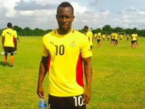 Saddick Adams wants to play and make history with Hearts of Oak