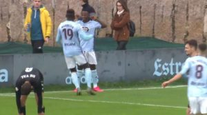 Yaw Yeboah continues to excel while training with Celta Vigo senior team