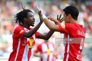 Majeed Ashimeru scores as RedBull Salzburg win Austrian OFB Cup