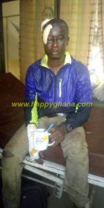 Bechem Utd head coach Kwaku Danos survives gory accident