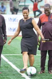 Ghana Police Service to construct astroturf for ladies football team