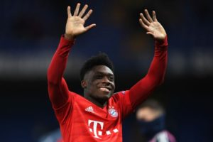 Alphonso Davies: From refugee camp in Ghana and becoming a Bayern Munich star