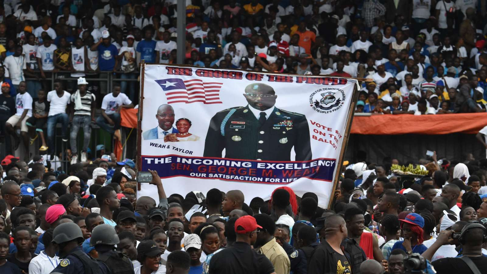 Remembering how George Weah's Liberia nearly took Nigeria's World Cup berth