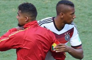 Jerome Boateng admits there was pressure on him playing against KP Boateng at 2010 WC