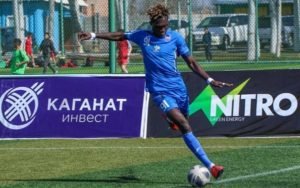 Deadball specialist Sampson Opoku hopes to play for the Black Stars soon