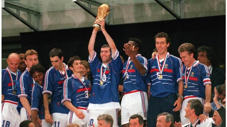 World Cup in 2002 was won by France