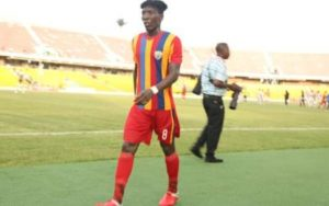 Hearts of Oak open talks with Benjamin Afutu over new contract