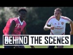 Contact sessions restart and Torreira's outside! | Behind the scenes at Arsenal Training Centre