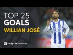 TOP 25 GOALS Willian José en LaLiga Santander