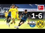 SC Paderborn vs Borussia Dortmund I 1-6 I All Goals I Sancho, Hakimi & Co. with a Fantastic 2nd Half