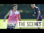 It's a Gabriel Martinelli special! | Behind the scenes at Arsenal Training Centre