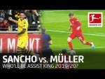 Jadon Sancho vs. Thomas Müller – Who'll be the Assist King 2019/20?