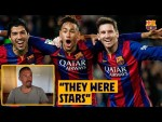 "Luis Enrique remembers Messi, Suárez & Neymar ""They put the team before themselves"""