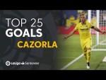 TOP 25 GOALS Santi Cazorla en LaLiga Santander
