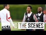 😱 SOKRATIS SCORES A WORLDIE! | Behind the scenes at Arsenal Training Centre