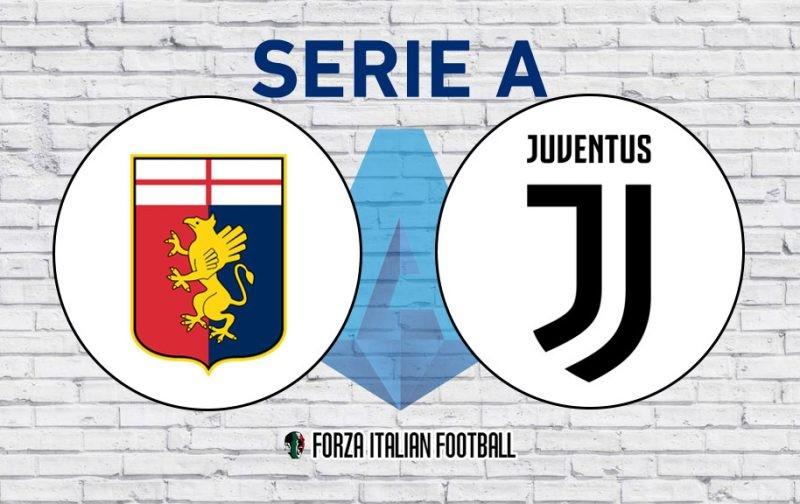Genoa v Juventus: Official Line-Ups
