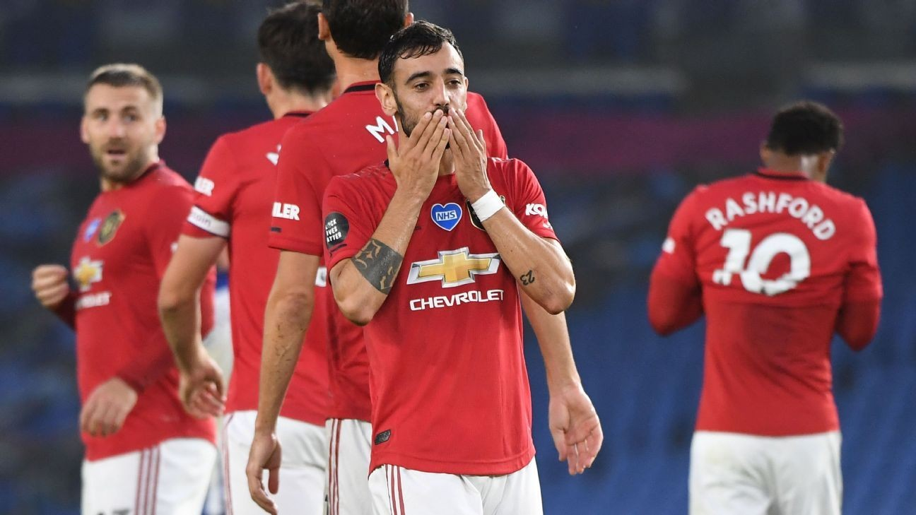 Fernandes, Greenwood star as Man United close on the top four