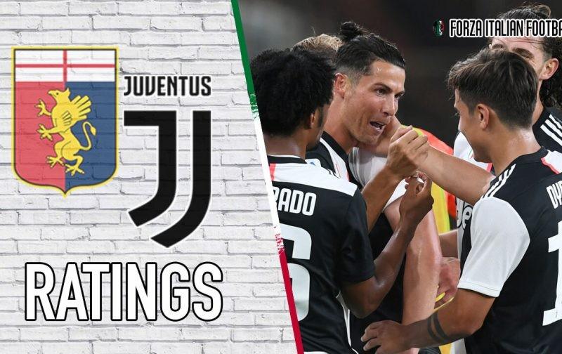 Juventus Player Ratings: Dybala and Bentancur continue their growth