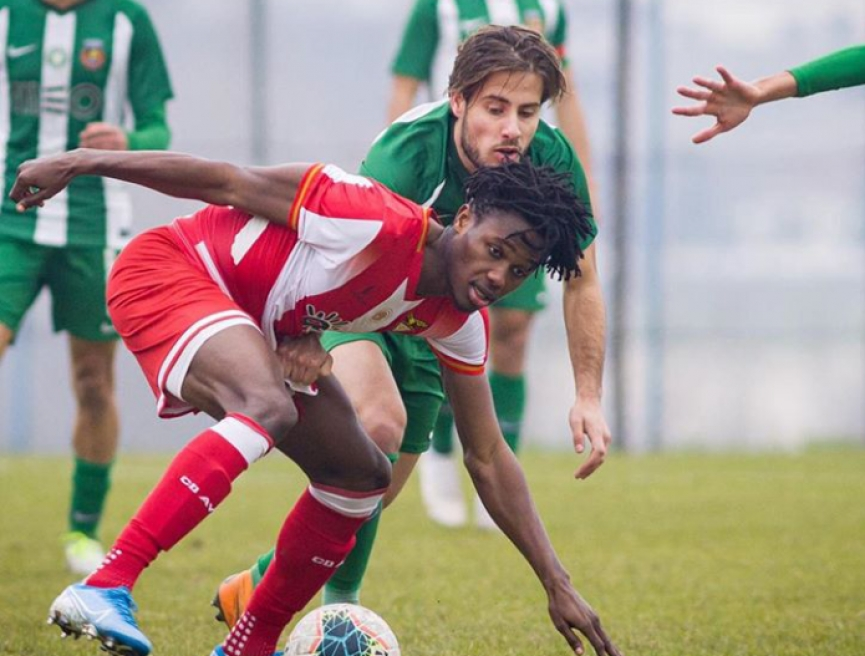 Kelvin Boateng makes first senior appearance for CD Aves in narrow defeat against Moreirense