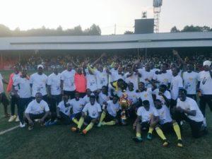Messager de Ngozi win 2019/20 BurundiPrimus Ligue title