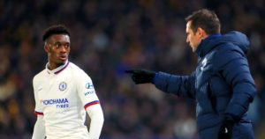 Hudson-Odoi needs to work hard daily in training - Chelsea boss Frank Lampard