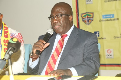 Accra Hearts of Oak to launch shortcode initiative on July 1