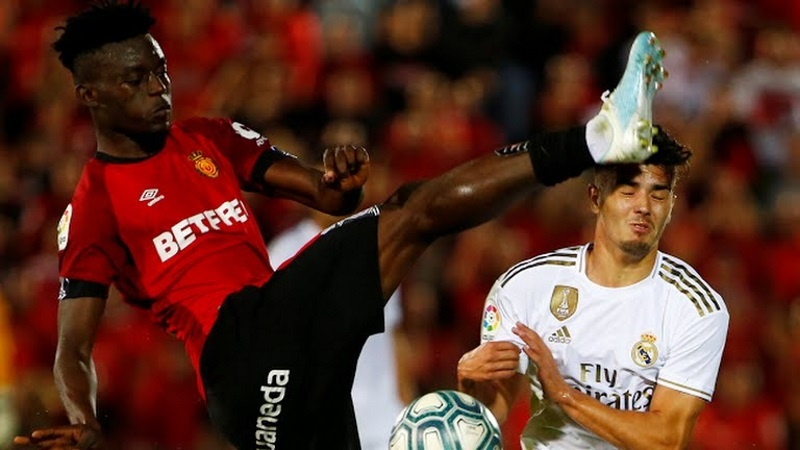 Baba Iddrisu suffer defeat with RCD Mallorca at the hands of Real Madrid