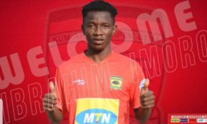 Imoro Ibrahim now begs for food at Kotoko because of unpaid signing on fee, salary – Thunder FC President