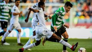 Joseph Amoah sent off as Vitoria Guimaraes draw against Sporting Lisbon
