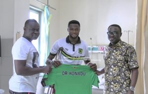 Asante Kotoko shot-stopper Kwame Osei facing spell on the sidelines after successful surgery