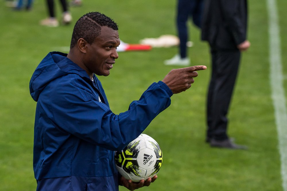 Marcel Desailly not ruling out working with the Black Stars in the future