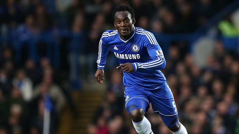 Michael Essien among top 10 African players at Chelsea & Manchester City