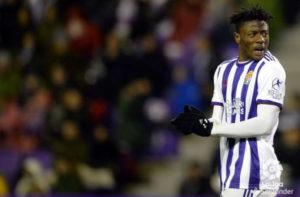 Real Valladolid defender Mohammed Salisu suspended for Valencia clash