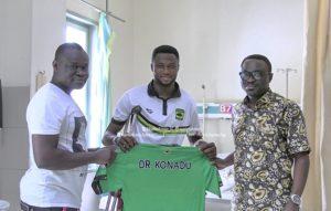 Kotoko goalkeeper Osei Kwame discharged from KATH after successful surgery