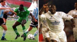 Yekini beats Ghana legend Tony Yeboah as greatest striker on FIFA poll