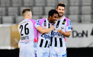 Samuel Tetteh on target as LASK Linz draw 3-3 against Wolfsberger AC