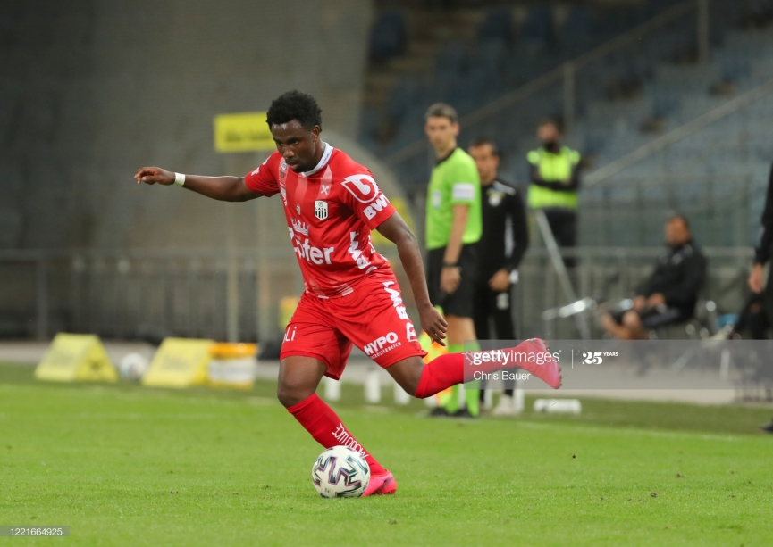 LASK Linz winger Samuel Tetteh to become a free agent at the end of season