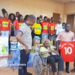 Kotoko supporters group donate to fan who got paralyzed in 1992 during clash against ASEC