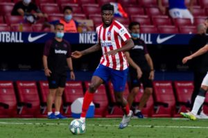 Is Atletico Madrid midfielder Partey on the verge of Premier League move?