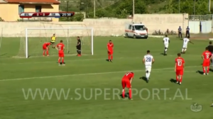 VIDEO: Watch Winful Cobbinah's delightful goal for FK Tirana against Bylis