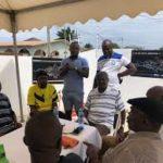 Former Great Olympics stars visit club legend Abu 'Tigana' Imoro