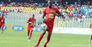 Former Kotoko striker Bancey set sights on GPL return